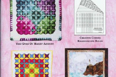 Creative Curves Illusions-Kaleidoscope Quilts by Virginia A. Walton