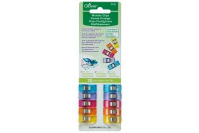Wonder clips assortite (busta da 10 pezzi)