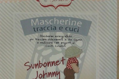 Mascherina - Sunbonnet Johnny