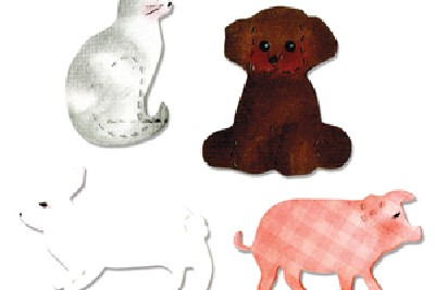 Gatto, Cane, Maialino e Coniglio - Cat, Dog, Pig & Rabbit