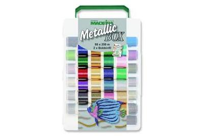 Box Metallic n. 40-200m-80 colori
