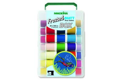 Box Frosted Matt n. 40-500m-40 colori
