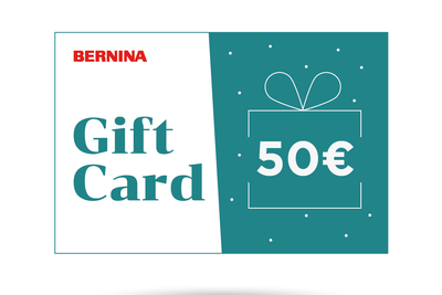 Gift Card Bernina 50€