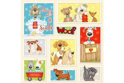Dogs & Suds by Shelly Comiskey - HG 6958-14
