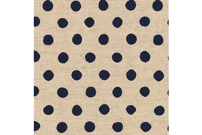 Sevenberry: Canvas Natural Dots - SB-88185D2-3 Navy - H. 1,10